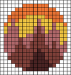 Alpha pattern #47018