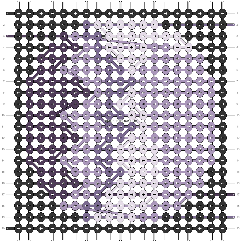 Alpha pattern #47019 pattern
