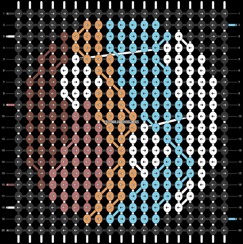 Alpha pattern #47022 pattern