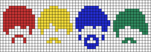 Alpha pattern #47025