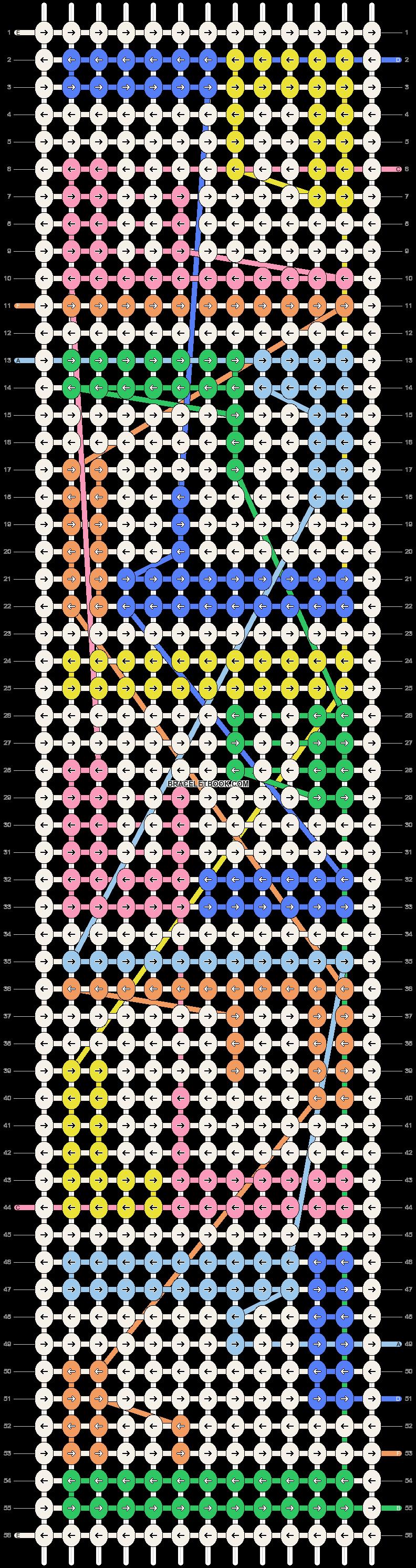 Alpha pattern #47030 pattern