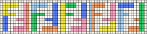 Alpha pattern #47030