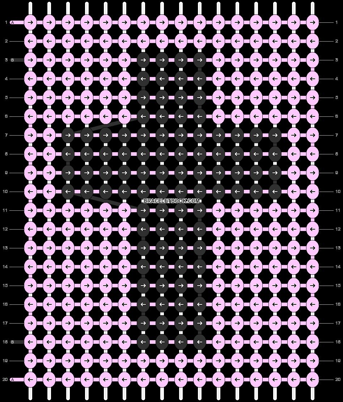 Alpha pattern #47041 pattern