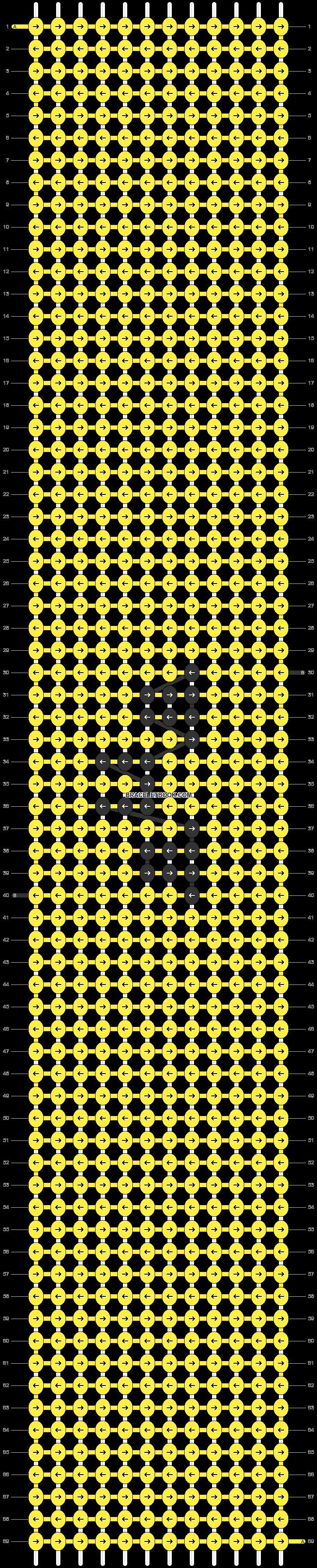 Alpha pattern #47078 pattern
