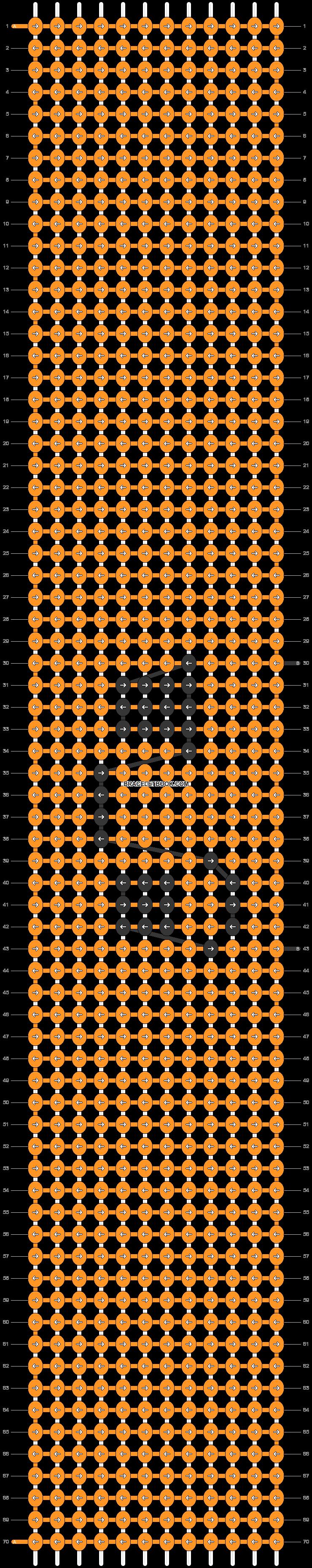 Alpha pattern #47079 pattern
