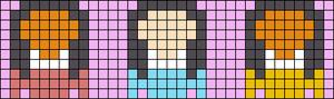 Alpha pattern #47088