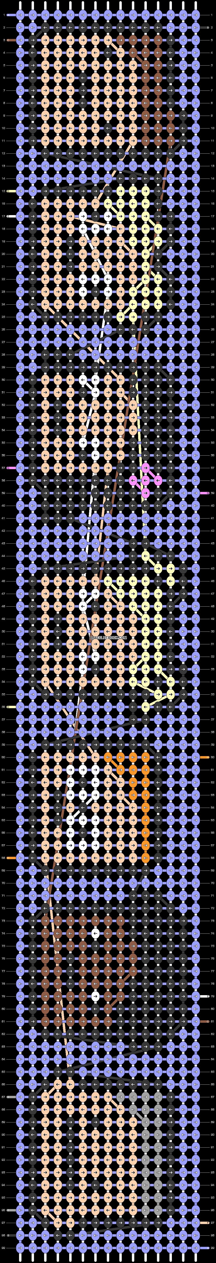 Alpha pattern #47095 pattern