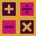 Alpha pattern #47109