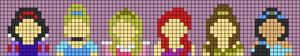 Alpha pattern #47144