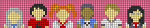 Alpha pattern #47161