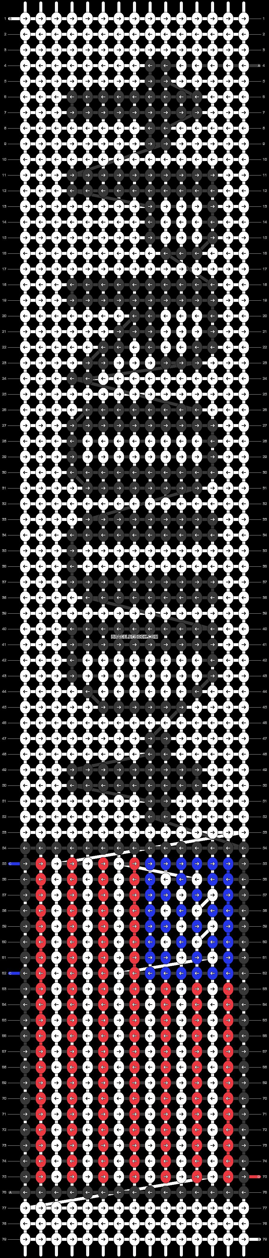 Alpha pattern #47170 pattern