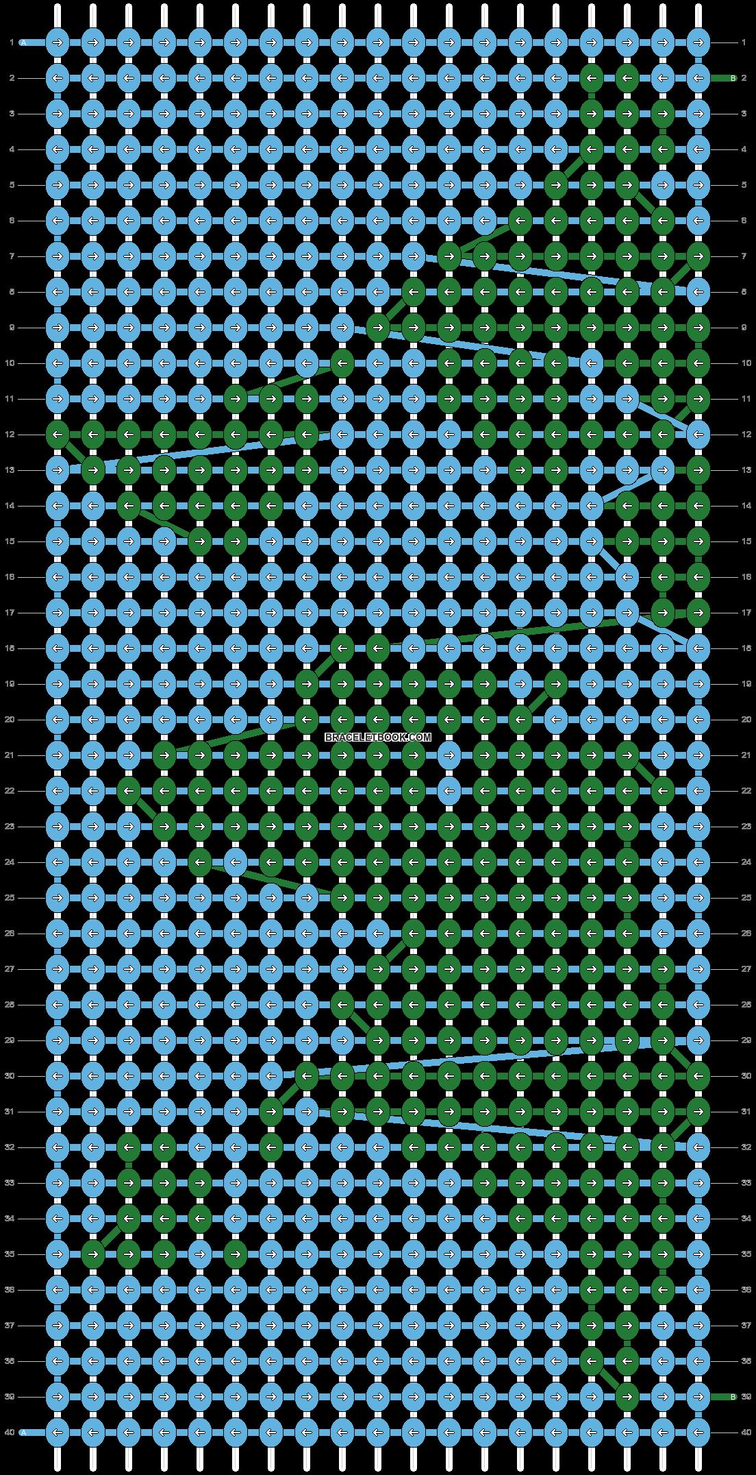 Alpha pattern #47232 pattern