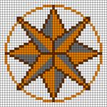 Alpha pattern #47242