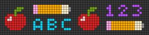 Alpha pattern #47245
