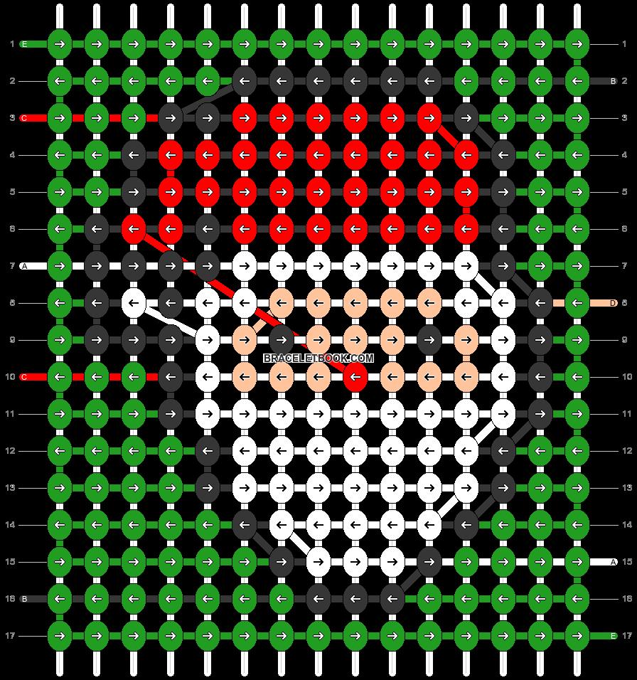Alpha pattern #47265 pattern