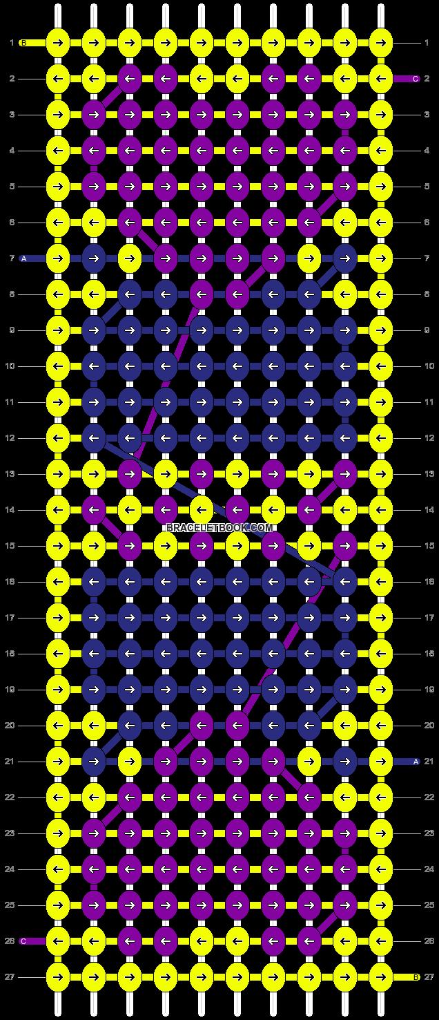 Alpha pattern #47307 pattern
