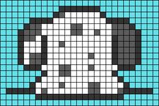 Alpha pattern #47357