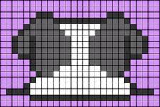Alpha pattern #47368