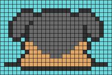 Alpha pattern #47372