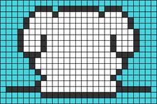 Alpha pattern #47376