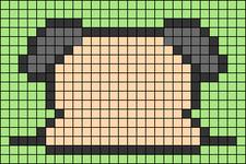 Alpha pattern #47380