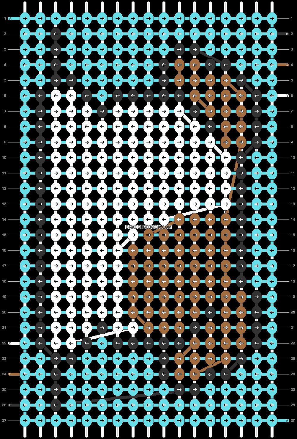 Alpha pattern #47385 pattern