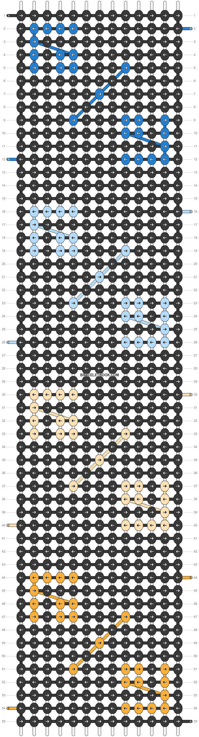 Alpha pattern #47402 pattern
