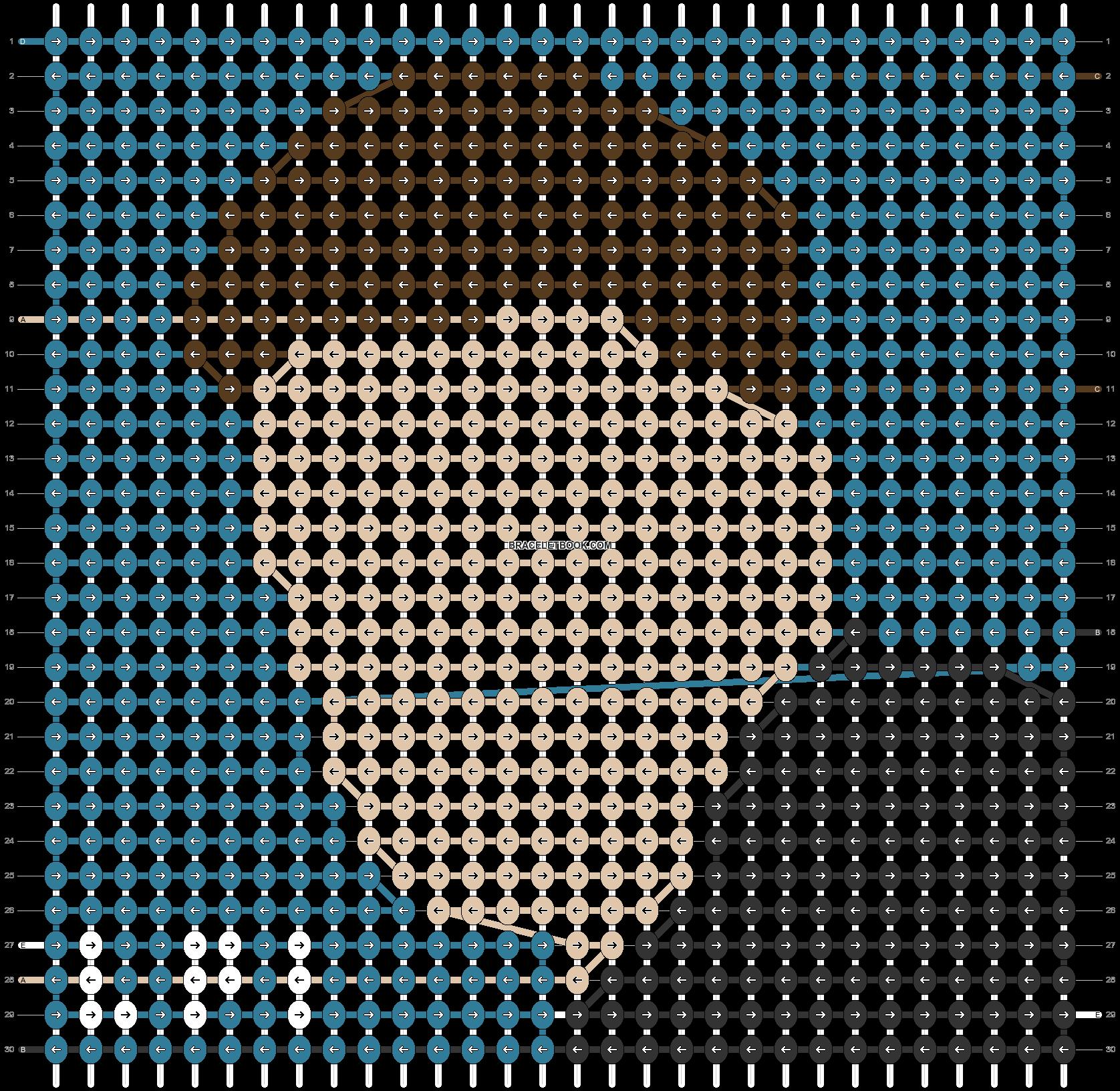 Alpha pattern #47406 pattern