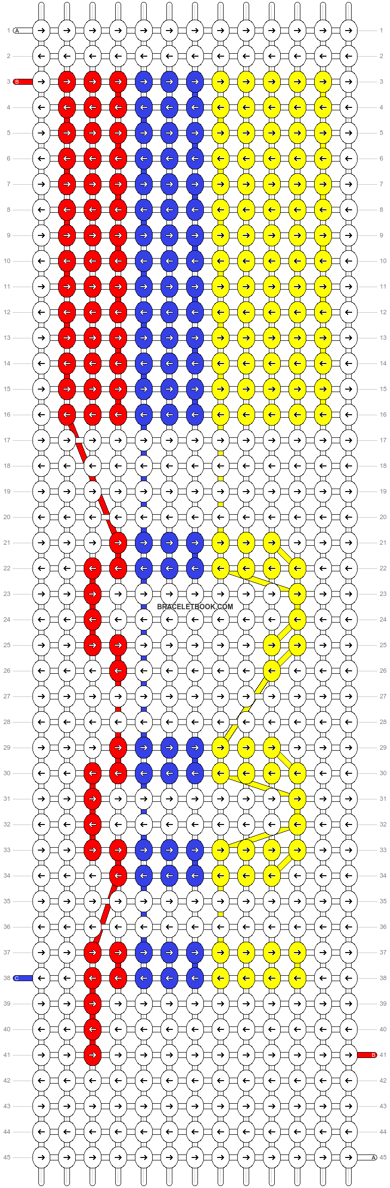Alpha pattern #47409 pattern
