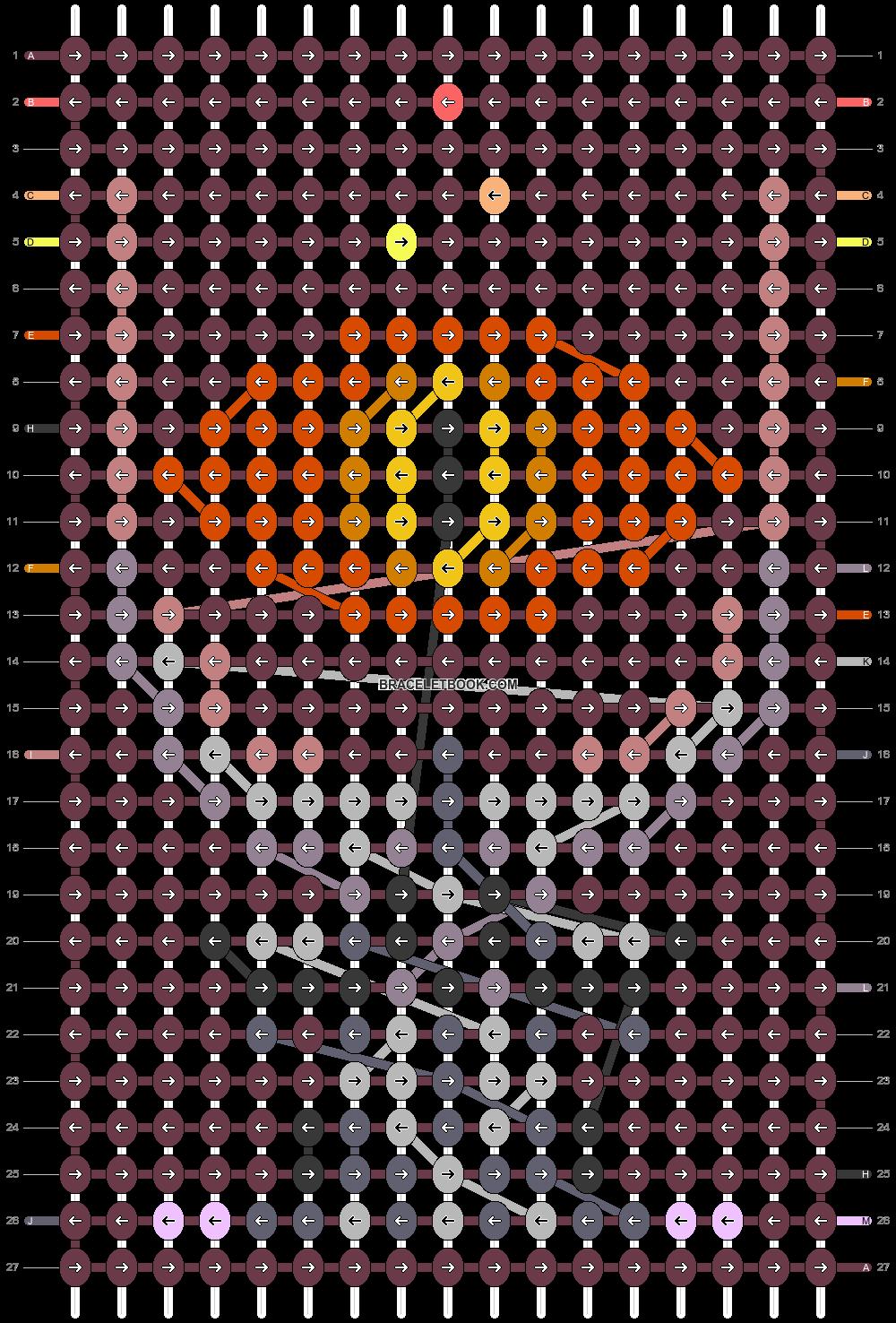 Alpha pattern #47416 pattern