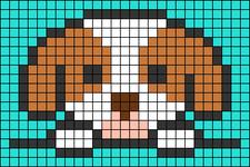 Alpha pattern #47418