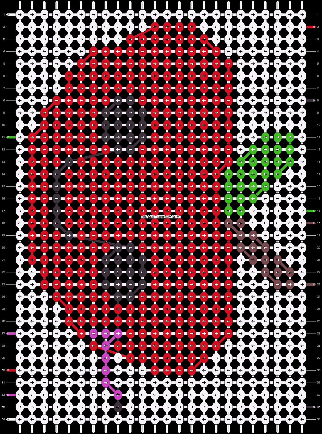 Alpha pattern #47428 pattern