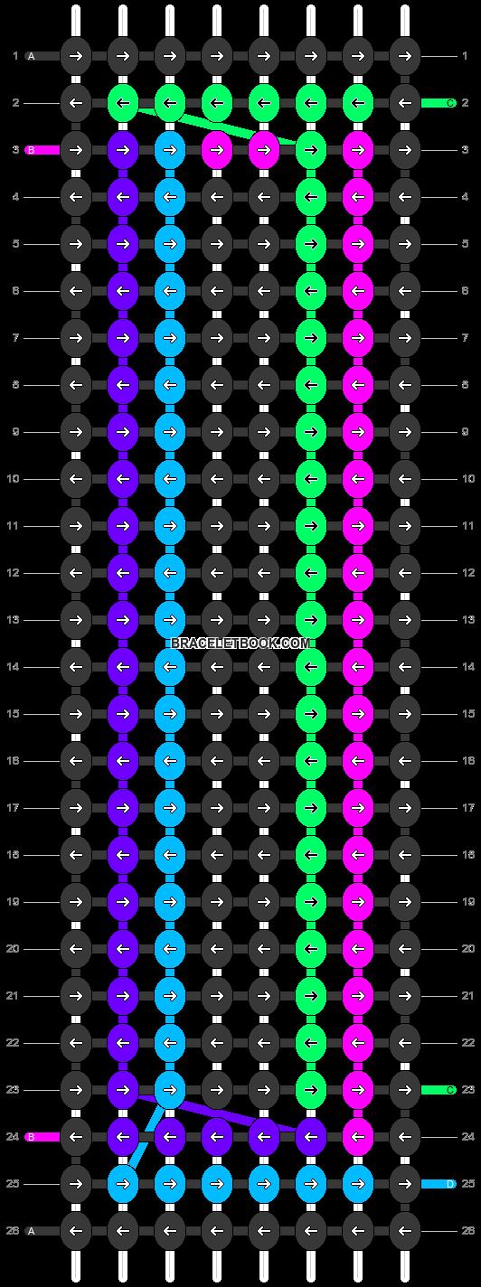 Alpha pattern #47452 pattern