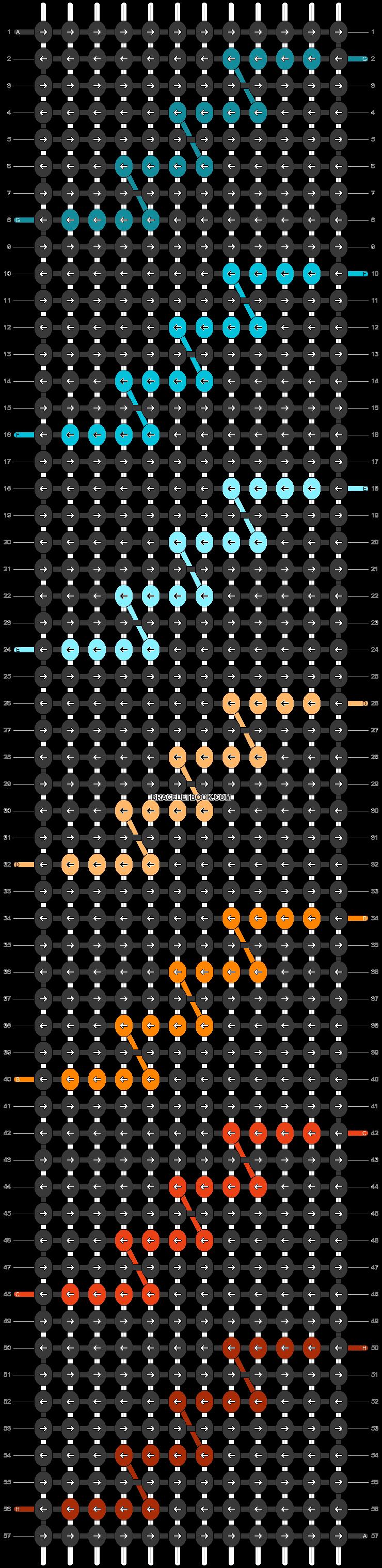 Alpha pattern #47462 pattern