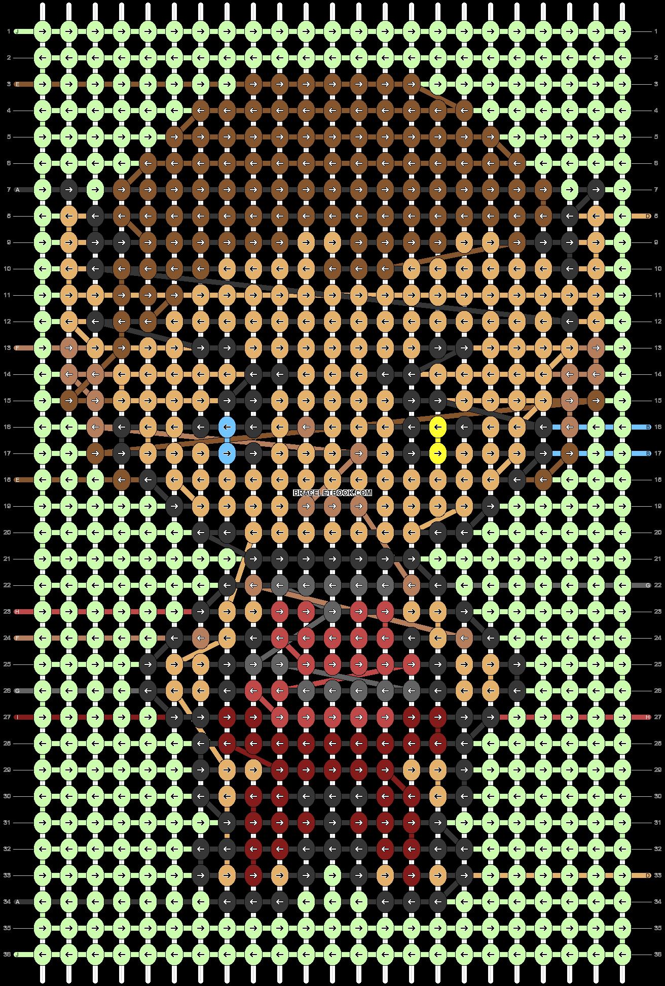 Alpha pattern #47522 pattern