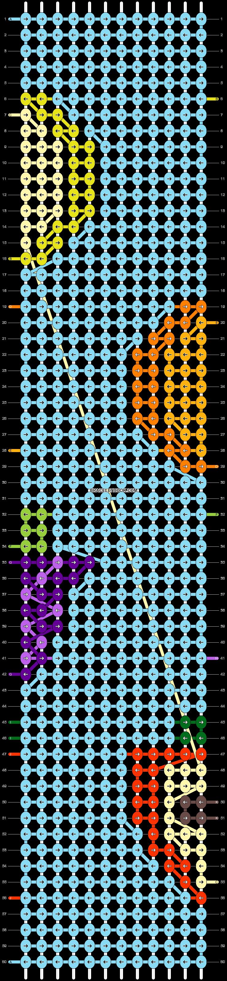 Alpha pattern #47539 pattern