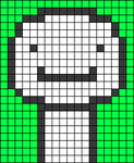 Alpha pattern #47542