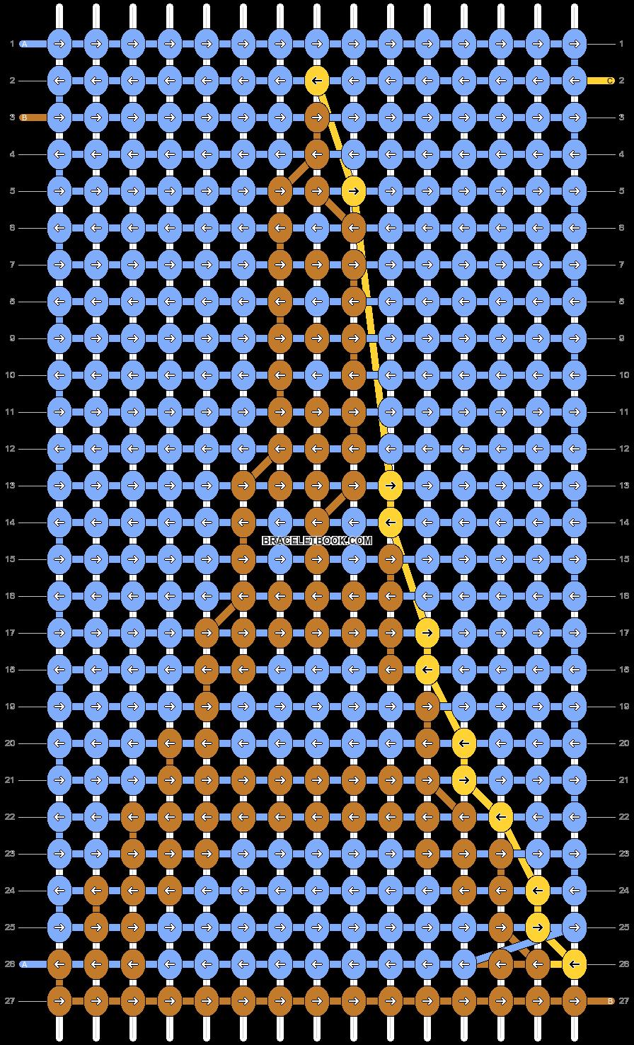 Alpha pattern #47552 pattern