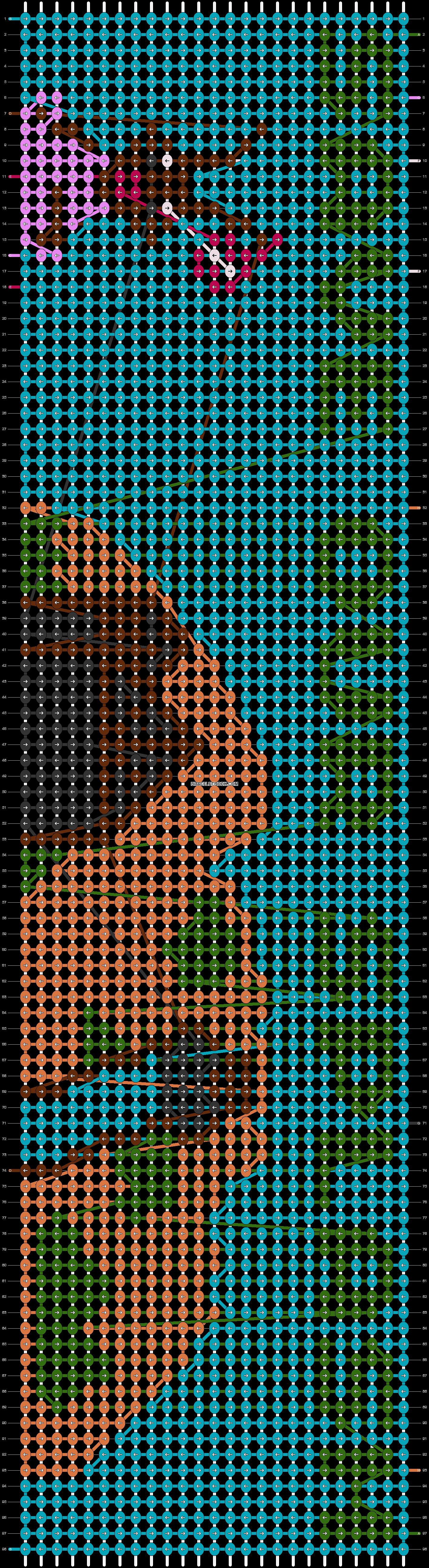 Alpha pattern #47624 pattern