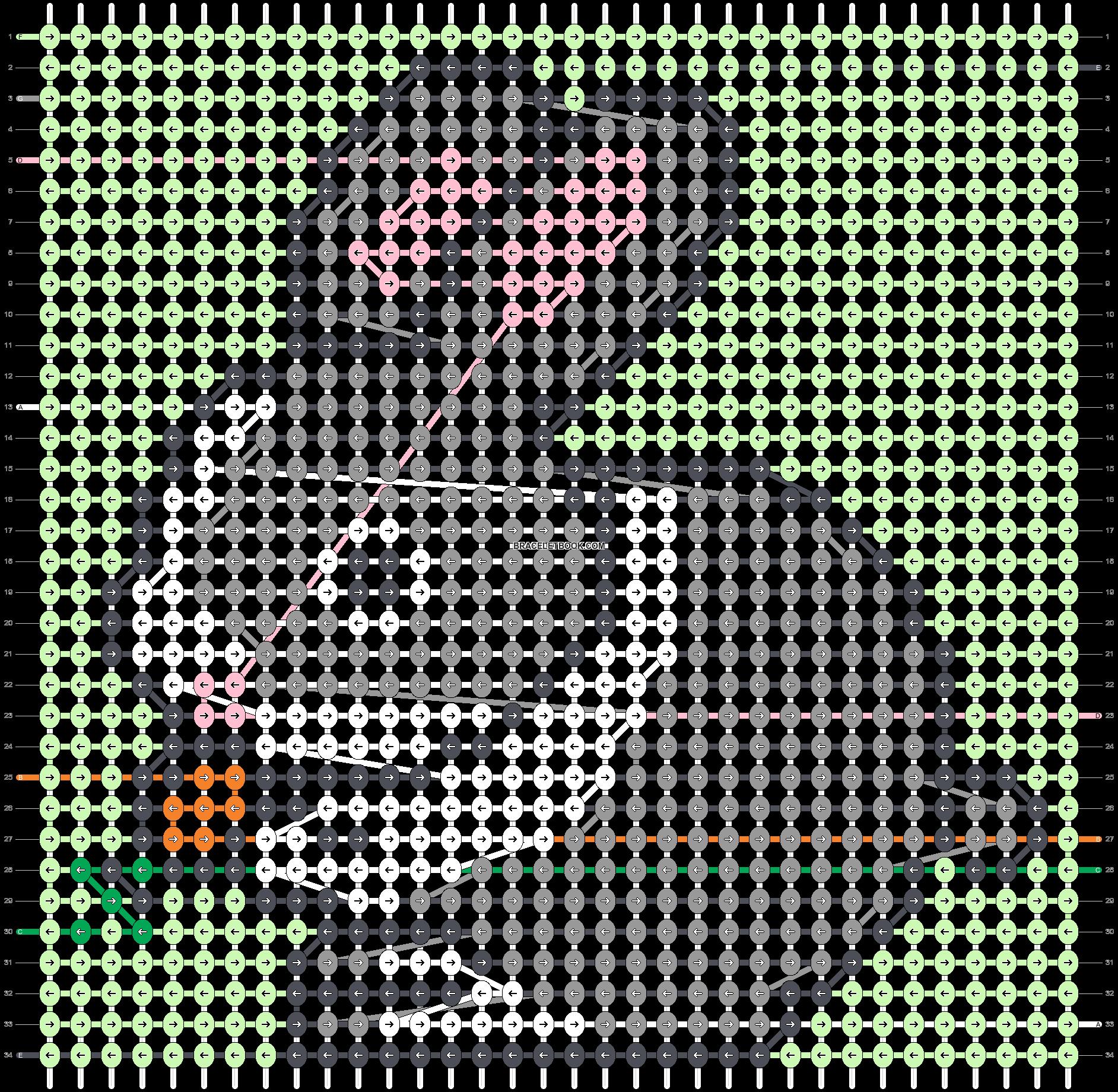 Alpha pattern #47650 pattern
