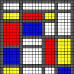 Alpha pattern #47666