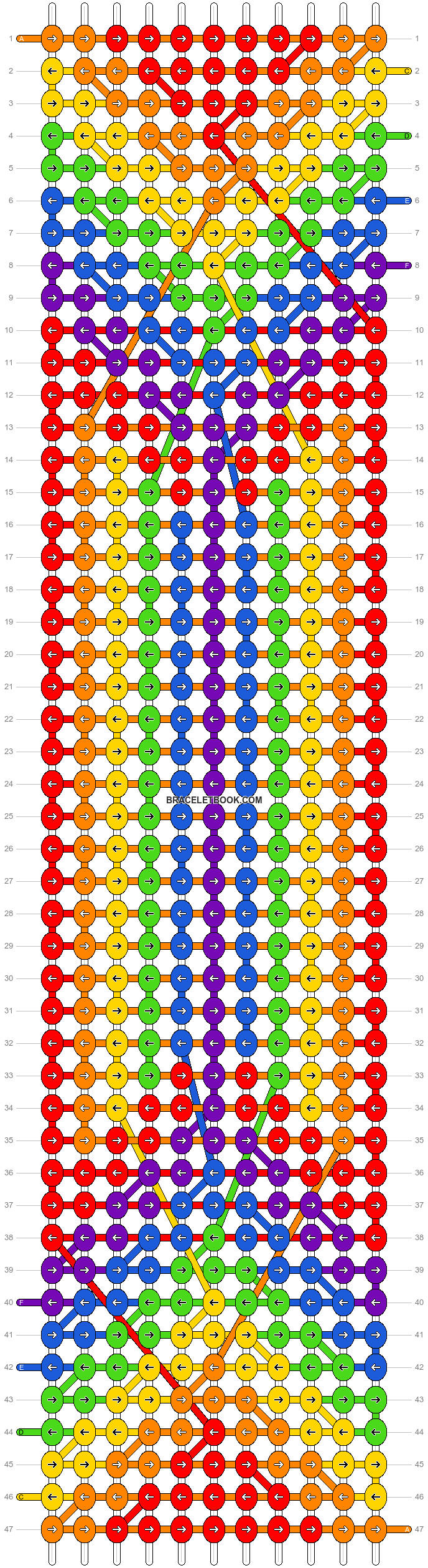 Alpha pattern #47672 pattern