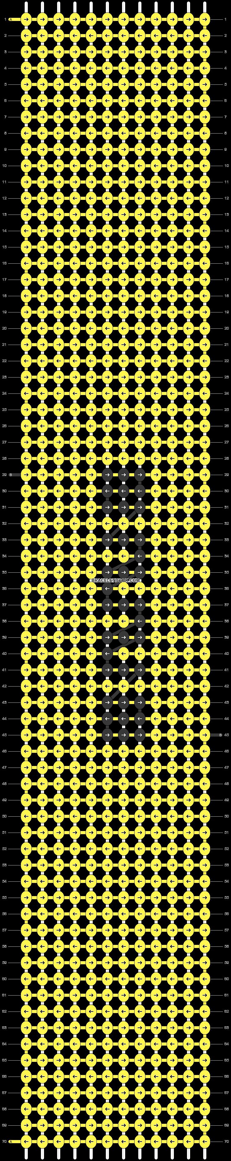 Alpha pattern #47675 pattern