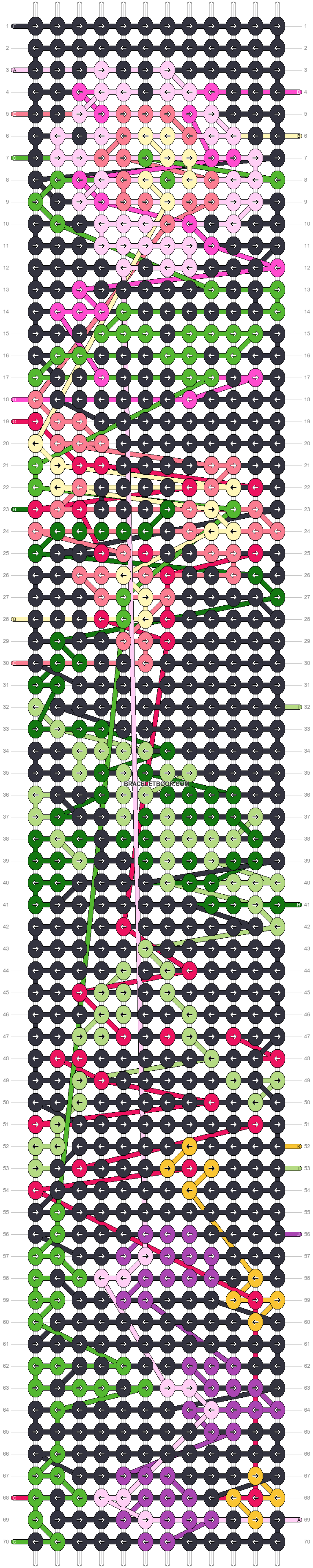 Alpha pattern #47685 pattern