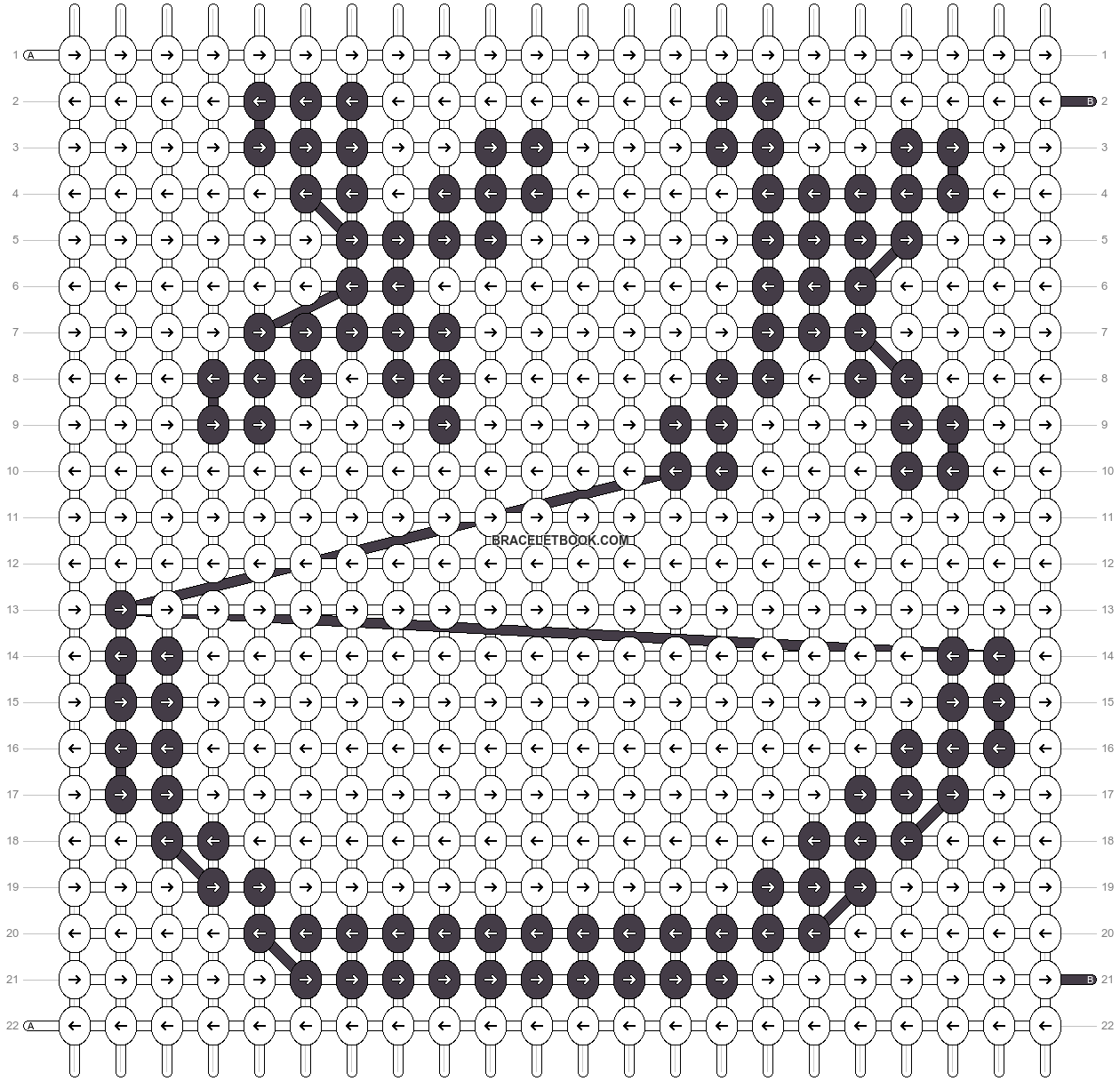 Alpha pattern #47686 pattern