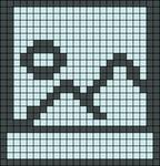 Alpha pattern #47687