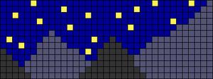 Alpha pattern #47692