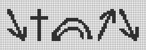 Alpha pattern #47698