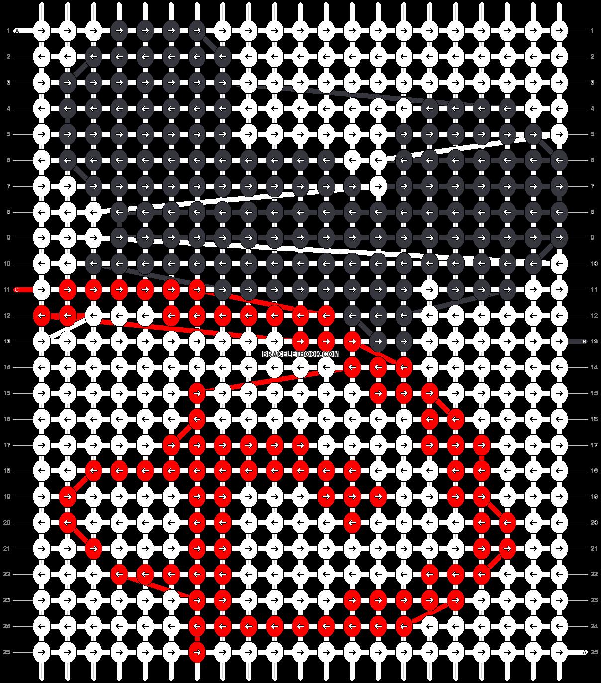 Alpha pattern #47708 pattern