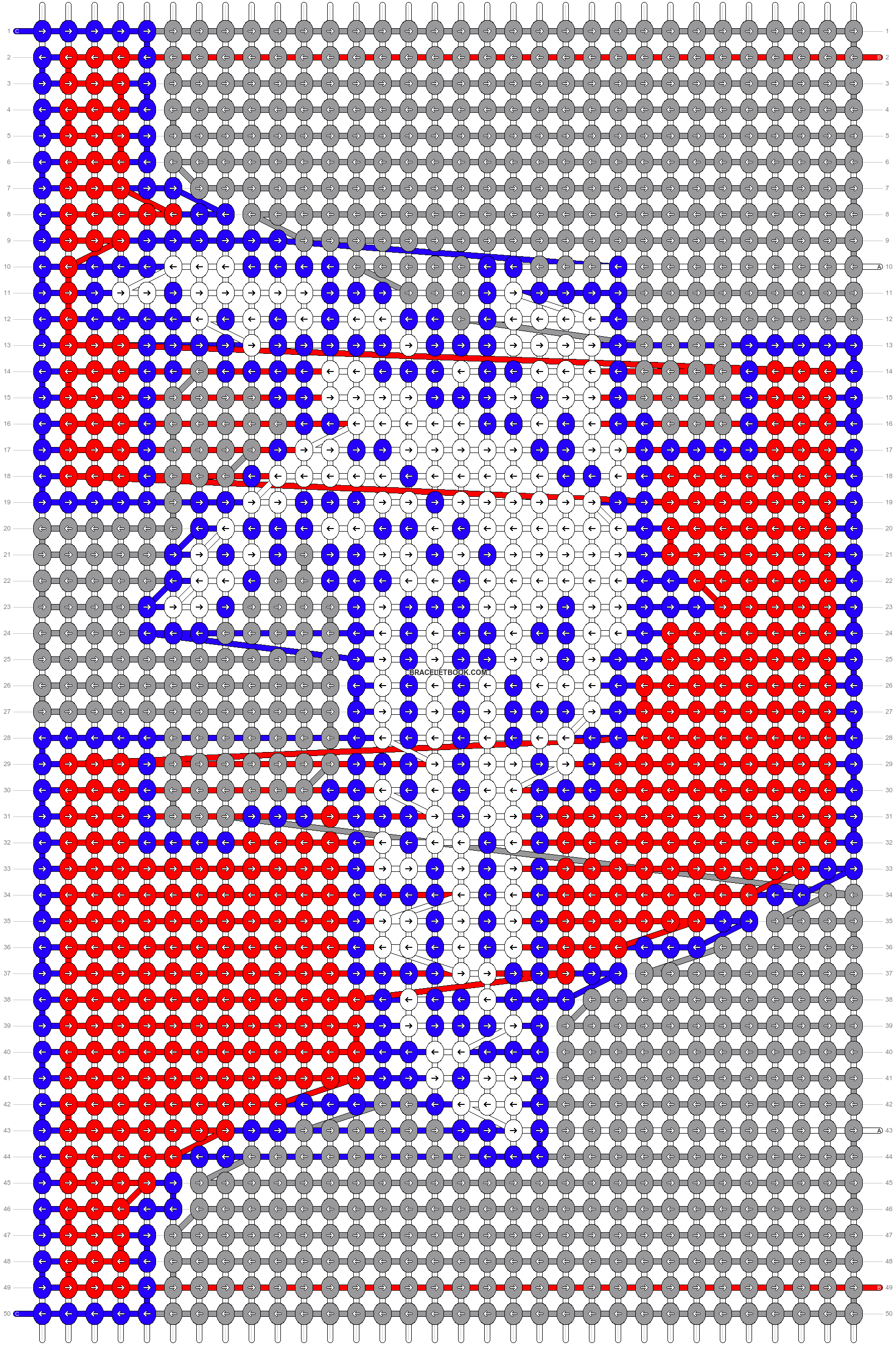 Alpha pattern #47731 pattern